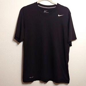Nike | Dri-Fit Black Short Sleeve T-Shirt - M